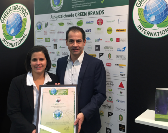 Re-validation of GREEN BRANDS quality seal