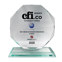 CFi Award Best Green Alternative Innovation 2020